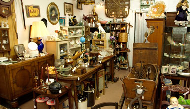 Antique Shops in Dillard